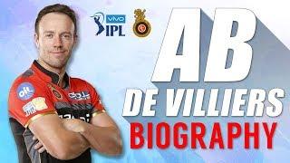 AB DE VILLIERS Biography | MR. 360 | IPL | RCB