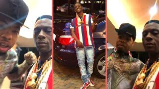 Boosie and Webbie In Miami Together Boosie Goes In On Fan Saying Him and Webbie Beefing!