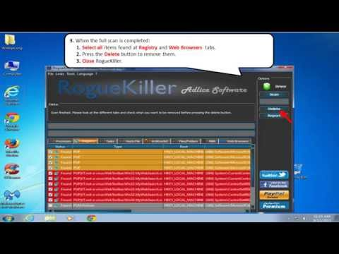 Remove Package Tracer Toolbar Hijacker