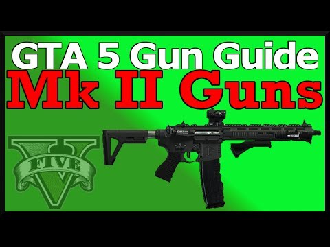 GTA 5: Mark 2 Guns Guide (Stats, Damage Changes & How To Unlock)