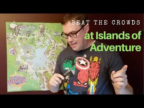 Beat the Crowds at Universal's Islands of Adventure