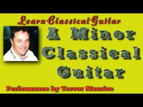 Study in A Minor Classical Guitar