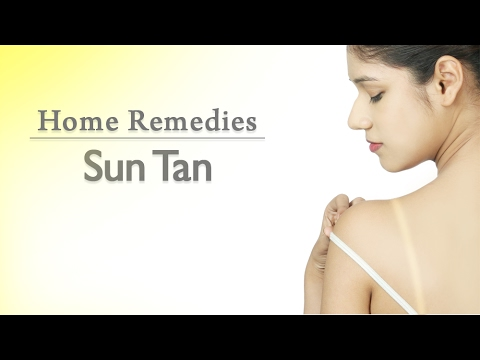 How To Get Rid Of Sun Tan | Anti Sun Tan Packs | Home Remedies With Upasana