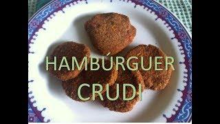 Receita de Hambúrguer Crudivegano da Sophie