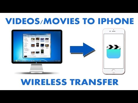 How to Transfer Videos/Movies From Computer to iPhone Wirelessly (With and Without cable)