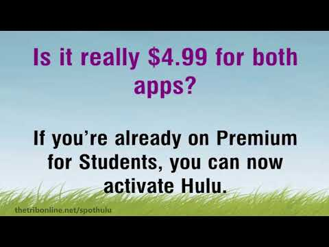 Spotify and Hulu Student Bundle Premium Deal Free Questions and Answers