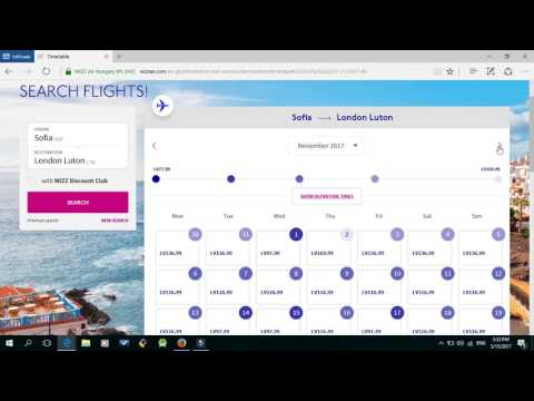 How to find and reserve a cheap flight tickets - WizzAir Part 2