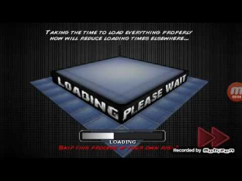 Wrestling revolution 3d creating my character