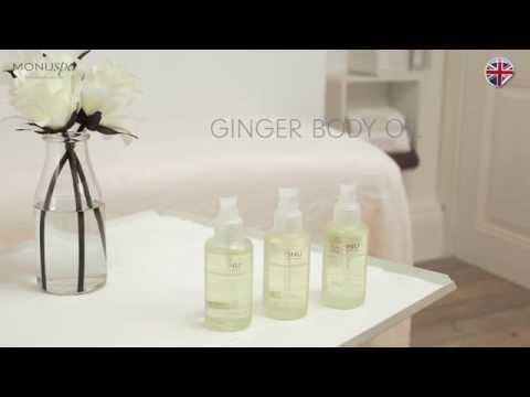 MONU Ginger Body Oil