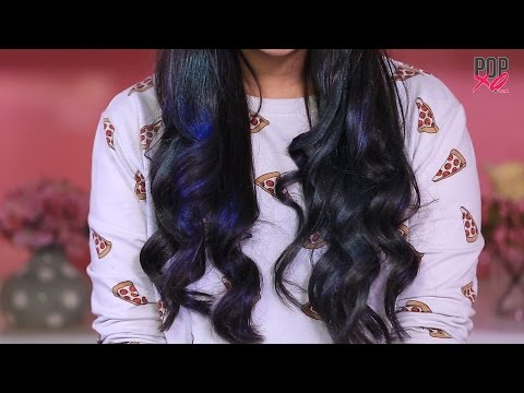 DIY Hair Color At Home | Temporary Hair Color For A Day - POPxo