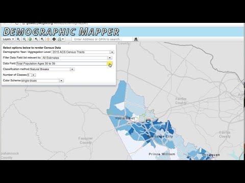 Prince William County Demographic Mapper