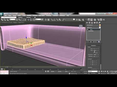 3ds Max House Modeling Tutorial: How to Model Couch/Sofa for Architectural Interior Design