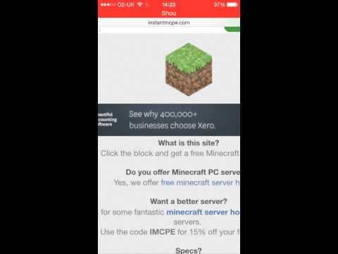 How to make your own minecraft PE server -