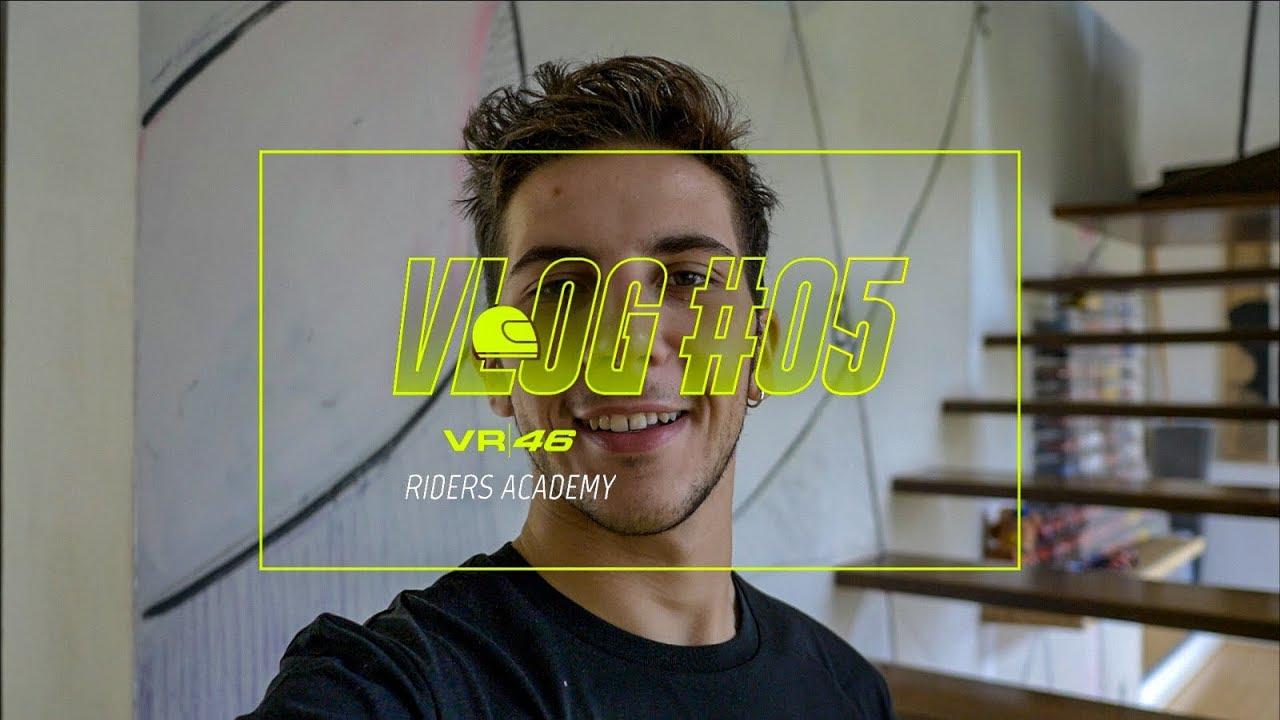 VLOG VR46 Riders Academy #05 - Andrea Migno
