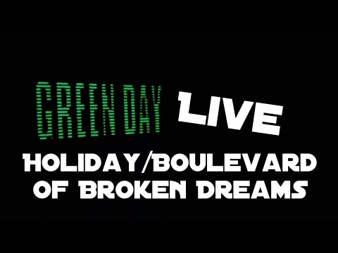 Green Day - Holiday/Boulevard of Broken Dreams  [Live in Little Rock, AR]
