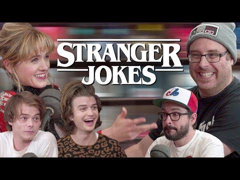 STRANGER JOKES : Jokes de Papa avec les teens de Stranger Things