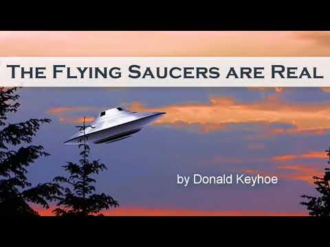 The Flying Saucers are Real by Donald Keyhoe | Full Audiobook