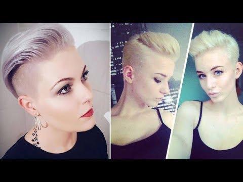 Super Short Hair Cuts for Ladies