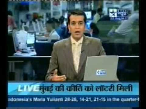 Kirti Patel from Mumbai won lottery PlayWin India news on Star News