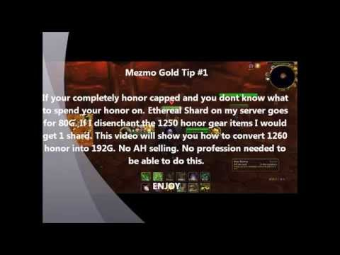 Convert your HONOR to GOLD