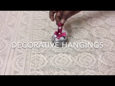 How to make a decorative hanging