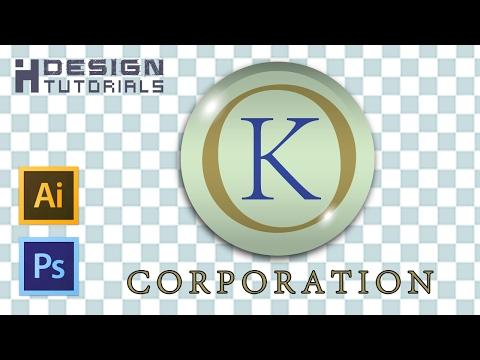 transparent logo design in Adobe illustrator CC