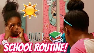 TRANSFORMING MY DAUGHTER FOR SCHOOL! School Morning Routine 2019