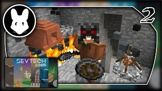 SevTech Ages - New Base! Llama Powah! Part 3 - Mischief of Mice!