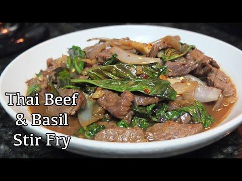 Easy Beef & Basil Stir Fry