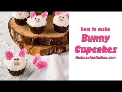 How to Make Bunny Cupcakes | The Bearfoot Baker