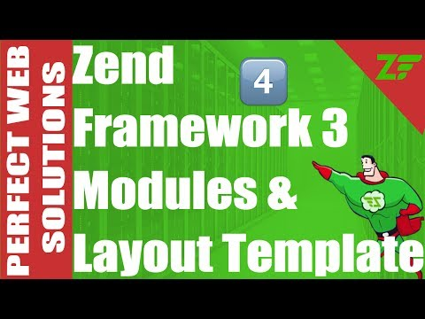 Part 04 Zend Framework 3 Tutorial for beginners on modules with Template layout in urdu 2017