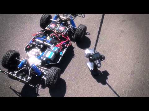 Dual Motor - MGM Brushless Losi 5ive-T - Most Powerful Brushless RC in the World!