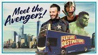 Meet the Avengers! (Marvel Feature Destinations)