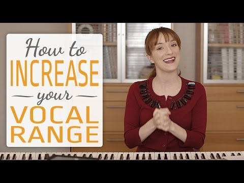 How to increase your vocal range - 3 simple exercises