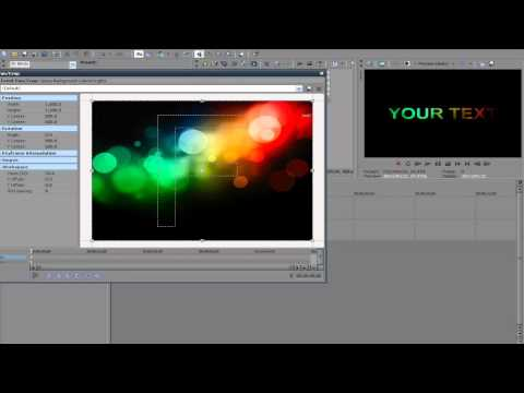 How to Make an Awesome Colorful Intro FAST and EASY in Sony Vegas Pro