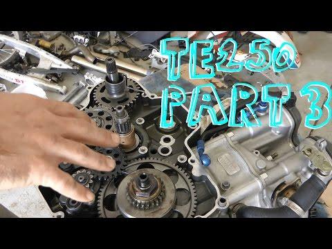 2007 Husqvarna TE250 Fix-Up Project - Part 3 - Engine Work & Rear Suspension