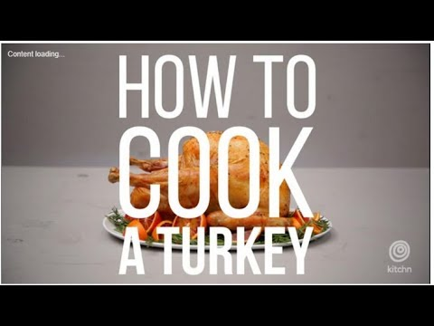 How Long To Cook A Turkey Per Pound - TURKEY COOK