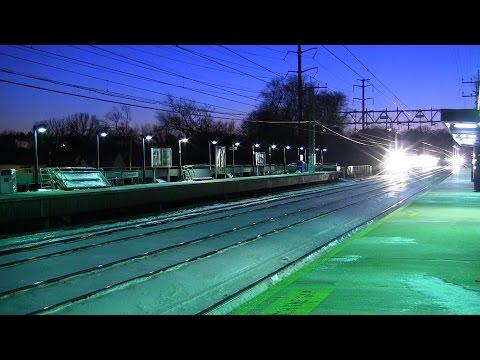 Train race 5:46 New Haven & 5:49 Danbury Boyz (Old Greenwich, Cos Cob) 2/5/2015