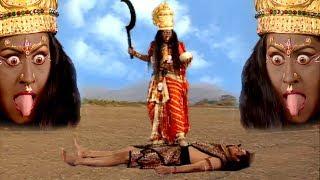 भगवान शिव क्यों माँ काली के चरणों के नीचे लेट गये थे || BR Chopra Superhit Hindi Serial @ BR Studios