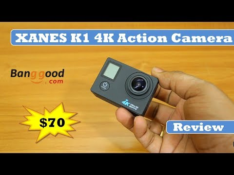 XANES K1 | 4K Action Camera - Banggood.com | Water Proof Action Camera