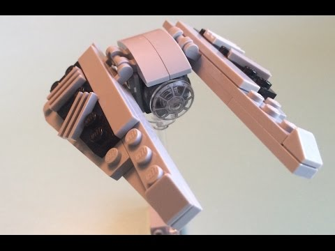 Lego Tie Striker Mini Build How To