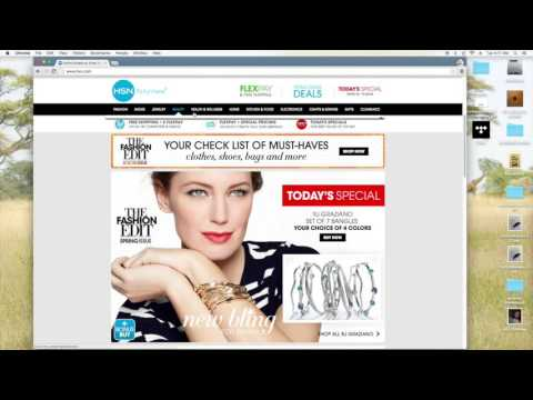 The Shopping cart trick using HSN