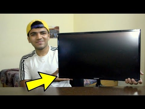 SAMSUNG CF390 Curved 1080p Monitor Review, Gaming Test. Best Gaming Monitor Under ₹ 11000 In INDIA ?