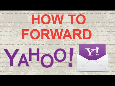 How to forward Yahoo Mail (update)
