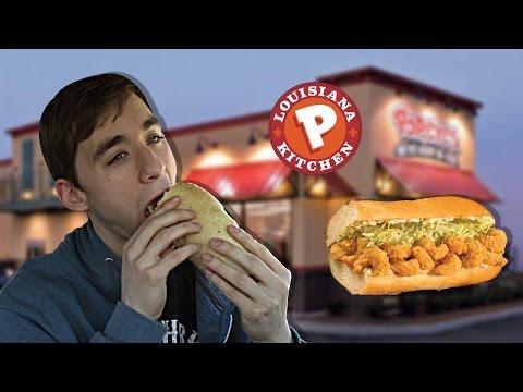 Popeye's Shrimp Po-Boy - Food Review #138