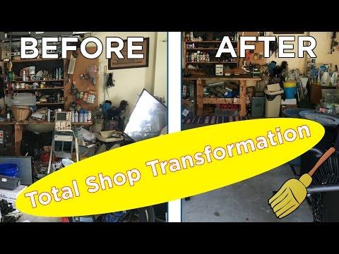 Ben Cleans: Total Shop Transformation!