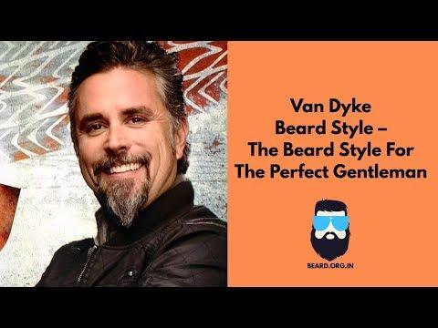 Van Dyke Beard Styles For The Perfect Gentleman