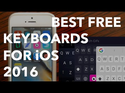 12 Best Free iOS Keyboards for 2016