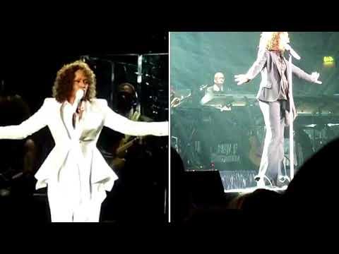 "Whitney Houston - ""I Look To You"" Live 2010 (Birmingham VS Nottingham Concert)"