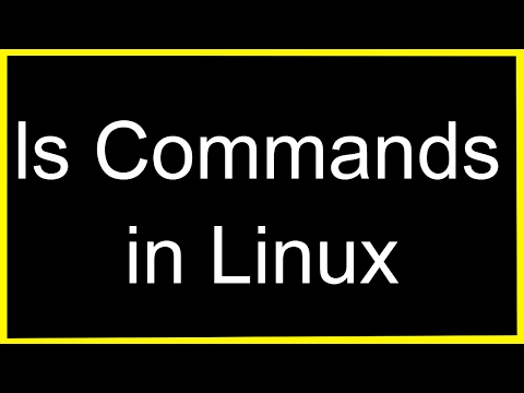 Linux TIP -ls command in Linux
